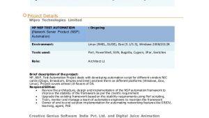 Xml Testing Resume Sample Xml Testing Resume