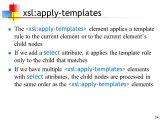 Xsl Multiple Templates Xslt 11 Apr Ppt Download