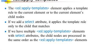 Xsl Multiple Templates Xslt 11 Apr Ppt Download