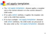 Xslt Apply Templates Xslt 11 Apr Ppt Download