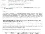 Yacht Engineer Resume 9 10 Transportation Cover Letters oriellions Com