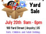 Yard Sale Flyers Free Templates Community Yard Sale Template Postermywall