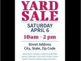 Yard Sale Flyers Free Templates Download This Yard Sale Flyer Template and Other Free