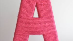 Yarn Covered Letters Christina Williams Yarn Wrapped Letters