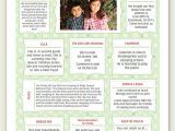 Year 1 Christmas Card Ideas Year In Review Christmas Newsletter Template In Pdf for