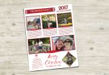 Year In Review Christmas Card Merry Christmas Family Newsletter 2017