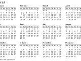 Year Long Calendar Template Full Year Calendar Template Beautiful 13 Best April 2018