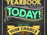 Yearbook Flyer Template Marketing tools Yearbooklife