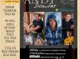 Yearbook Flyer Template Senior Yearbook Ad Full Page 6 Images We by Suzibeedesigns