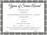 Years Of Service Certificate Template Free Sample Of Years Of Service Award Awardcertificate