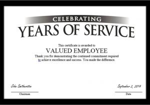 Years Of Service Certificate Template Free Tag Archive for Quot Employee Anniversary Quot Recognizethis Blog