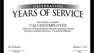 Years Of Service Certificate Template Tag Archive for Quot Employee Anniversary Quot Recognizethis Blog