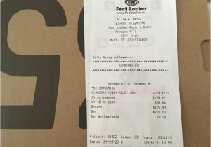 Yeezy Receipt Template Foot Locker Yeezy Receipt Leukos
