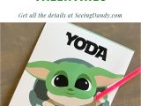 Yoda Best Valentine S Card Printable 618 Best Valentines Day Images In 2020 Valentines