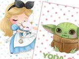 Yoda One for Me Valentine Card Wonderful Free Printable Valentines Day Cards In 2020 with