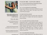 Yoga Teacher Sample Resume New Yoga Teacher Resume Sample Studios Pinterest