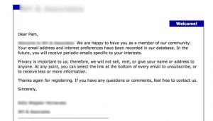 You are Receiving This Email because Template 7 Welcome Emails that Set the Standard Getresponse Blog