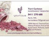 Younique Business Card Template 7 Best Images Of Younique Business Card Template