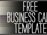 Younique Business Card Template Free Business Card Template Photoshop Youtube