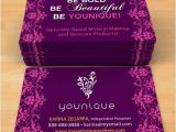 Younique Business Card Template Younique Business Cards 5 Kz Creative Services