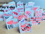 Youtube Valentine Card Making Ideas 20 Tiny Valentines Day Cards Watercolor Art Youtube In