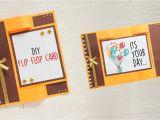 Youtube Valentine Card Making Ideas Diy Flip Flop Card Card Making Paper Crafts