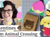 Youtube Valentine Card Making Ideas Diy Valentine Cards How to Make Animal Crossing Cards Laurenfairwx