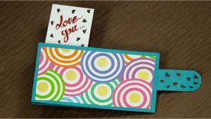 Youtube Valentine Card Making Ideas Valentine Pop Out Card Homemade Valentine Pop Out Card Tutorial