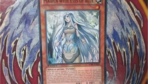 Yugioh Maiden In Love Card Yu Gi Oh Maiden with Eyes Of Blue Sdbe En006