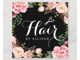 Zazzle Business Card Promo Code Haar Stylist Friseur Scissors Die Blumenverpackung