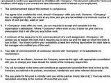 Zero Hour Contract Template Free Zero Hours Contract Template Free Sampletemplatess