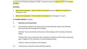 Zero Hours Contract Template Uk Zero Hours Contract Template Uk Template Agreements and