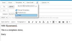 Zimbra Email Templates Zimbra org Zimbra Email Templates