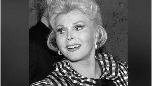 Zsa Sample Resume Zsa Zsa Gabor Died Sunday at 99 Oneapps