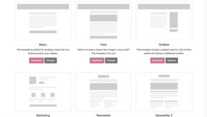 Zurb Foundation Email Templates 175 Free Responsive Email Templates Practical Ecommerce